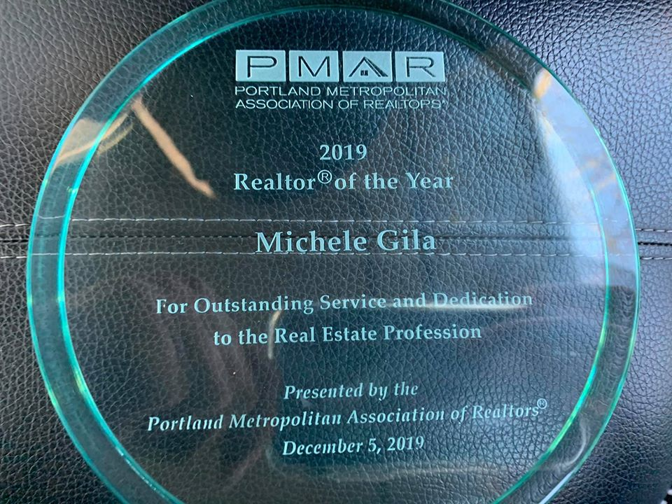 Michele Gila 2019 Realtor of the Year!