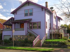 Purple Pride in the Heart of SE Portland